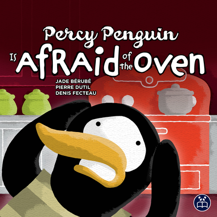 Percy Penguin is afraid of the oven |