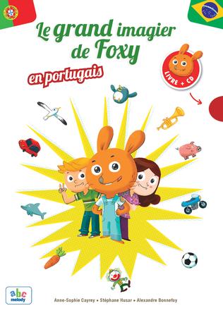 Le Grand imagier de Foxy en Portugais | Anne-sophie Cayrey