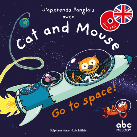 Cat and Mouse go to space ! | Stéphane Husar