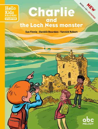 Charlie and the Loch Ness monster | sue finnie