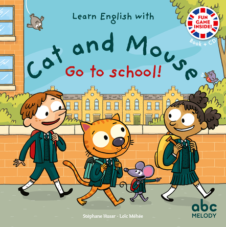 Cat and mouse go to school | Stéphane Husar