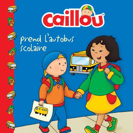 Caillou prend l'autobus scolaire | Marion Johnson