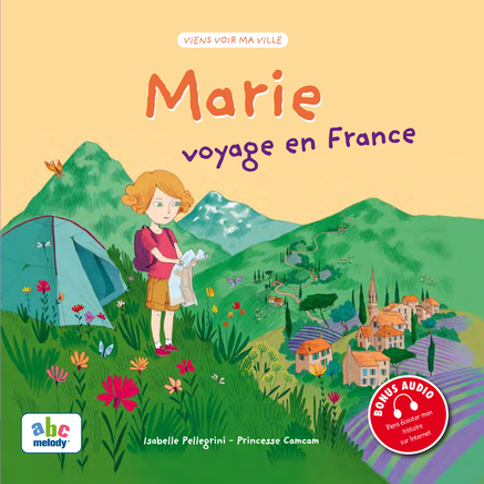 Marie voyage en France | Isabelle Pellegrini