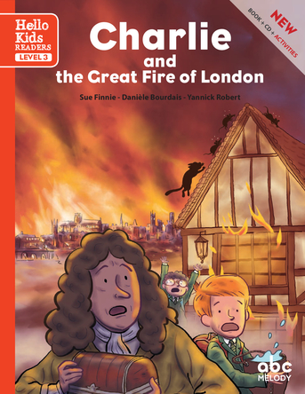 Charlie and the Great Fire of London | Yannick Robert