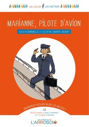 Marianne, pilote d'avion | Quentin Denoyelle