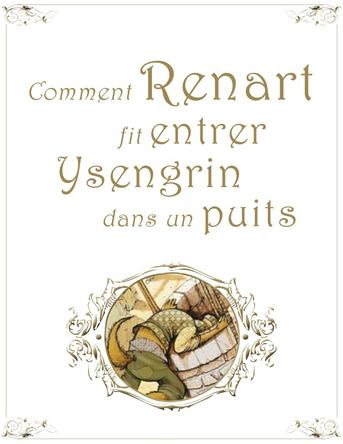 Chapitre 2 - Comment Renart fit entrer Ysengrin dans un puits |