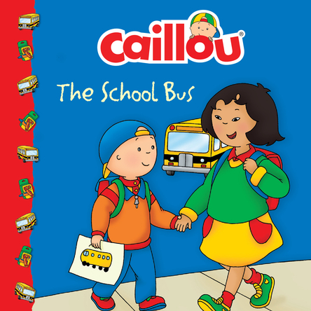 Caillou, the school bus | Eric Sévigny