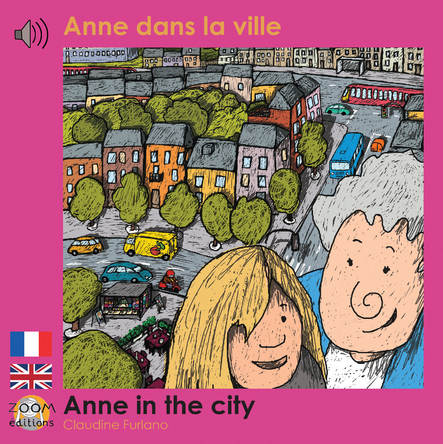 Anne dans la ville - Anne in the city | Claudine Furlano