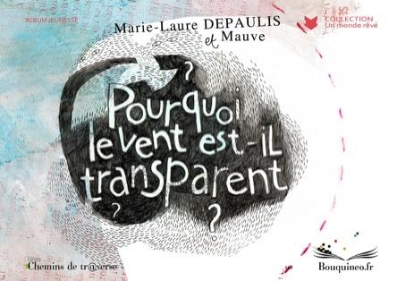 Pourquoi le vent est-il transparent ? | Marie-Laure Depaulis