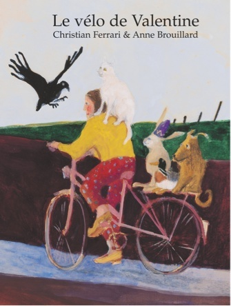 Le vélo de Valentine | Anne Brouillard