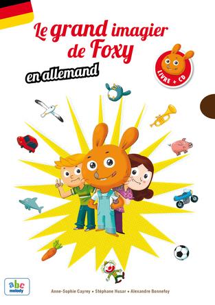 Le Grand imagier de Foxy Allemand | Anne-sophie Cayrey