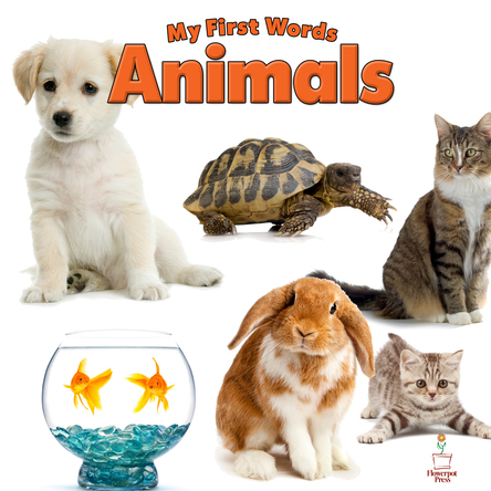My First Words Animals | Flowerpot Children's Press