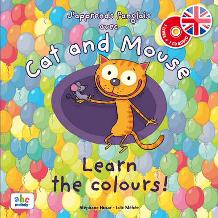 Cat and Mouse learn the colours ! | Stéphane Husar