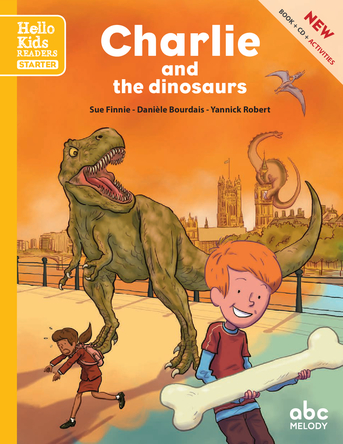 Charlie and the dinosaurs | sue finnie