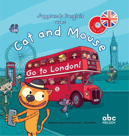 Cat and Mouse Go to London ! | Stéphane Husar