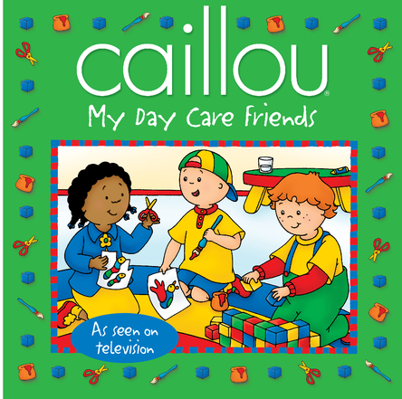 Caillou, my day care friends | Sarah Margaret Johanson