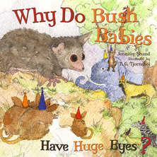 Why Do Bush Babies Have Huge Eyes ? | Jennifer Shand