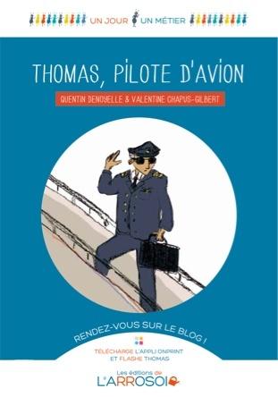 Thomas, pilote d'avion | Quentin Denoyelle