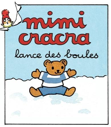 Mimi Cracra lance des boules | Agnès Rosenstiehl