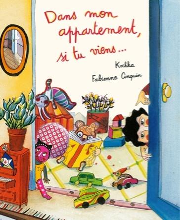 Dans mon appartement, si tu viens ... | Fabienne Cinquin