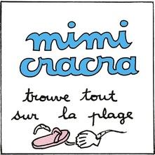 Mimi Cracra trouve tout sur la plage | Agnès Rosenstiehl