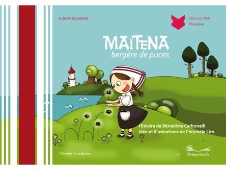 Maïténa bergère de puces | Bénédicte Carboneill