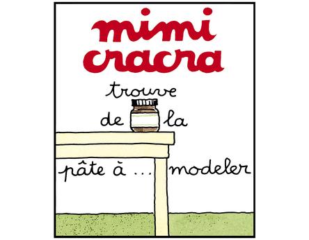 Mimi Cracra trouve de la pâte à modeler |