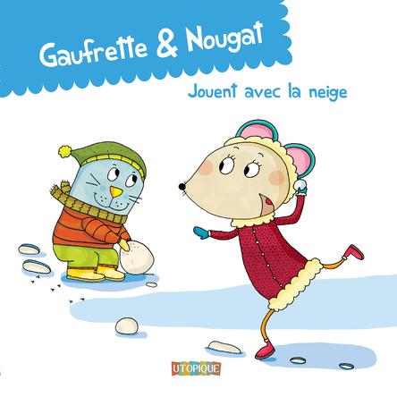 Gaufrette & Nougat jouent avec la neige | Didier Jean