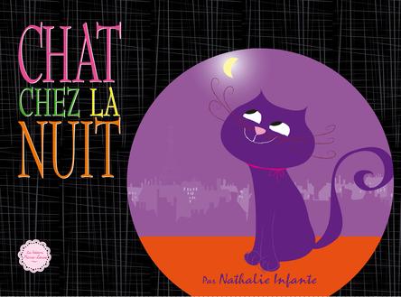 Chat chez la nuit | Nathalie Infante