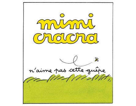 Mimi Cracra n'aime pas cette guêpe | Agnès Rosenstiehl