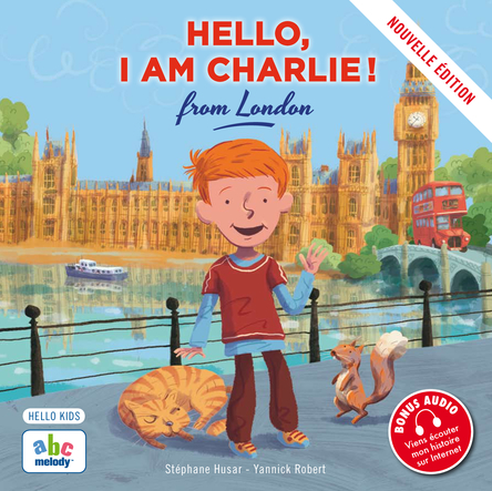 Hello, I am Charlie ! from London | Stéphane Husar