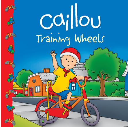 Caillou, Training wheels | Sarah Margaret Johanson