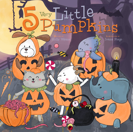 5 very Little Pumpkins | Ivana Forgo