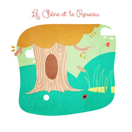 Le Chêne et le Roseau | Marie Comont