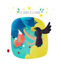 Le corbeau et le renard | Marie Comont