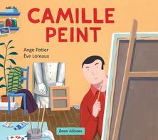 Camille peint | Ange Potier