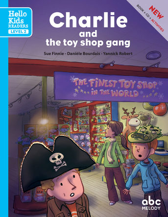 Charlie and the Toy Shop Gang | sue finnie