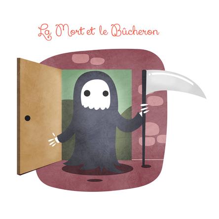 La Mort et le Bûcheron | Marie Comont