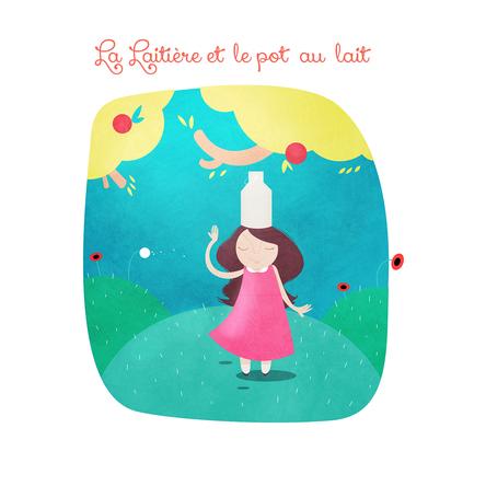 La laitière et le pot au lait | Jean de La Fontaine