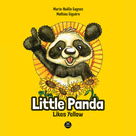 Little Panda likes yellow | Marie-Noëlle Gagnon
