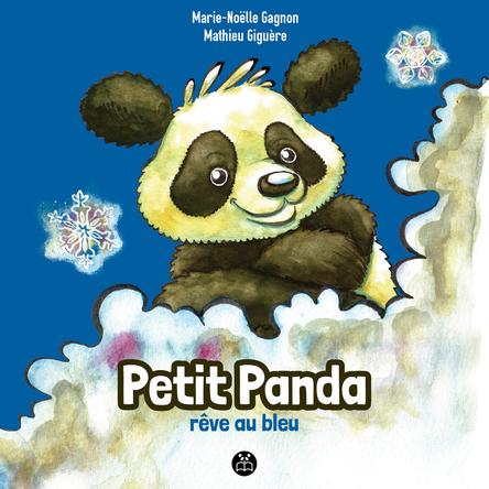 Petit Panda rêve au bleu |